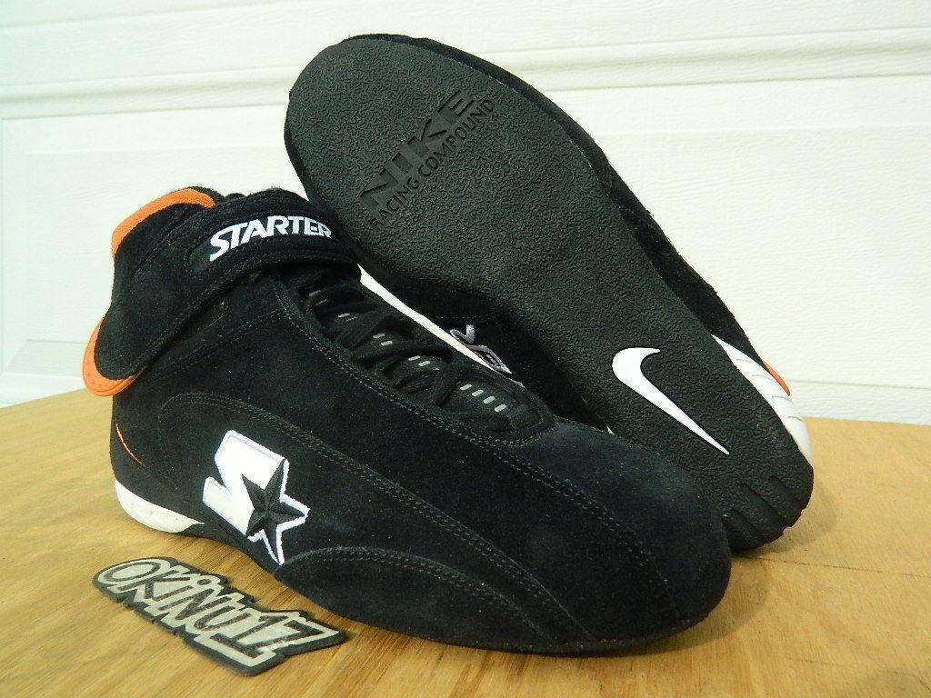 DS Nike x Starter Air Drive Pro S PIT CREW SAMPLE Joe Gibbs Racing Nascar iv iii