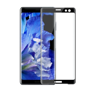 Details about FULL SCREEN EDGE 3D TEMPERED GLASS SCREEN PROTECTOR For Sony  Xperia XZ3