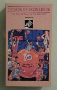 DECADE-OF-EXCELLENCE-THE-FIRST-TEN-YEARS-OF-THE-BIG-EAST-VHS-VIDEOTAPE