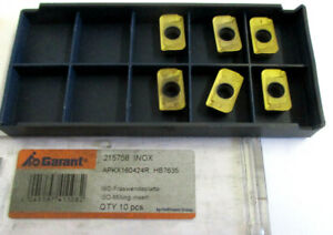 6-Indexable-Inserts-Apkx-160424R-HB7635-from-Garant-215756-Inox-New-H30918