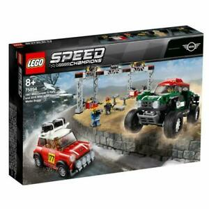 LEGO-Speed-1967-Mini-Cooper-S-Rally-2018-Mini-John-Cooper-Works-Buggy-75894