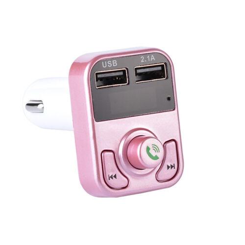B3 Car Handsfree Wireless Bluetooth FM Transmitter Radio MP3 Player USB Charger