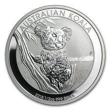 2015 Australia 1/2 oz Silver Koala BU - SKU #84452
