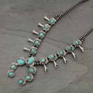NWT-Natural-Squash-Blossom-Turquoise-Necklace-7310360089