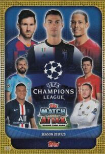 Topps-Match-Attax-Champions-League-2019-2020-19-20-C100-Limited-Auswahl-choose