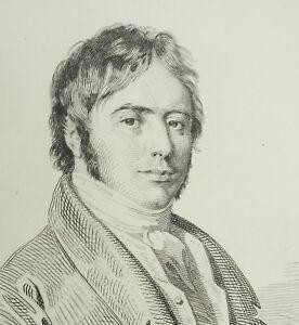 Eau-Forte-c1874-R-Dupont-Portrait-of-039-Artist-Alexandre-Joseph-Desenne