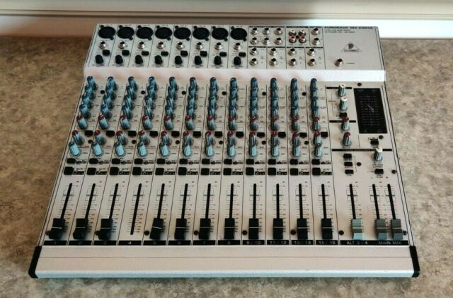 Eurorack MX 2004A 20 Channel Mixer Console Sound Board w/ Power Cord
