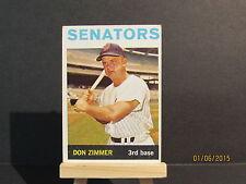 1964 Topps #134 Don Zimmer DHC