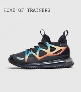 Dettagli su Nike AIR MAX 720 Horizon Nero Blu Bianco Scarpe Da Ginnastica Uomo Tutte Le Taglie mostra il titolo originale