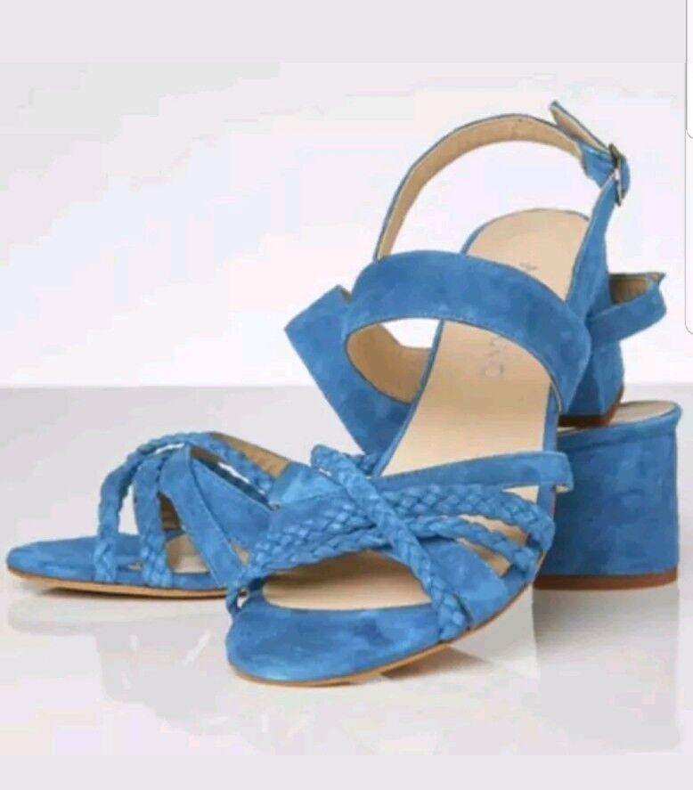 Artigiano Sandals Blaubell Sandals Artigiano Heel Größe EU 41 98fc71