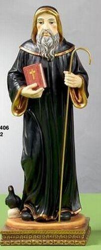NEUF 32 cm saint personnage Italie Italy Sainte san benedetto
