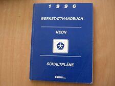 Schaltpläne Werkstatthandbuch Chrysler Neon Modelljahr 1996