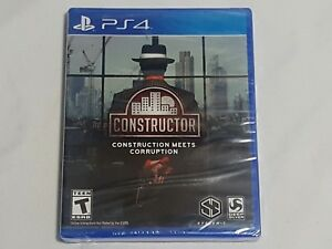 Details about NEW (Read) Constructor : Construction Meets Corruption  Playstation 4 Game PS4 US