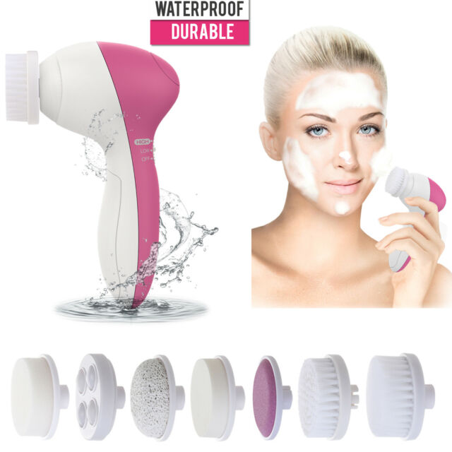 5 1 Multifunction Electric Facial Cleansing Brush Face Spa Skin Care Massage For Sale Online Ebay
