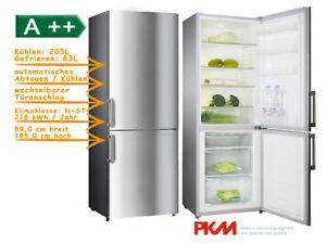 Kühlschrank Pkm : Kühlschrank mit gefrierabteil eek a 185 cm pkm kg288.4 kühl