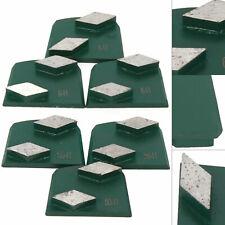 9pcs Diamond Concrete Grinding Tools Concrete Lavina Grinder Metal Bond Grinder