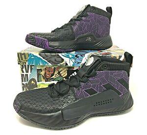 Kids Adidas Dame 5 J Basketball Shoes