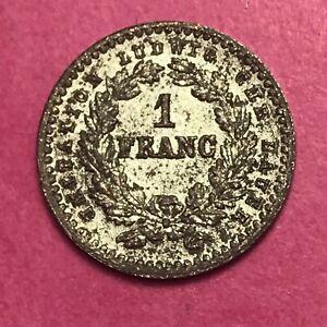 #286 - Jeton Rare - Mini Jeton 1 Franc Cérès - Facture Acheter Un Donner Un