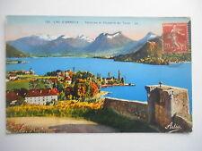 """CPA """"Lac d'Annecy -Talloires et Chapelle du Toron"""""""