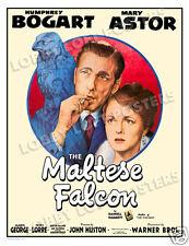 THE MALTESE FALCON LOBBY CARD POSTER OS 1941 HUMPHREY BOGART MARY ASTOR