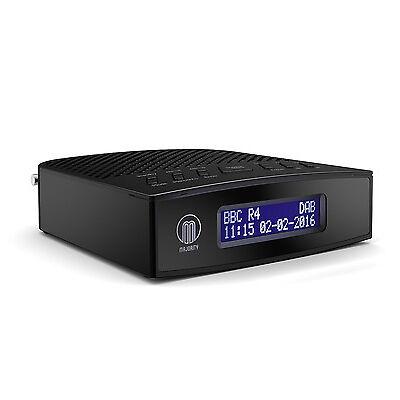 Majority Milton DAB+ DAB Digital & FM Radio Alarm Clock Black