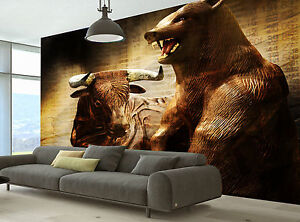 Stock Market Wall Mural Photo Wallpaper GIANT DECOR Paper Poster
