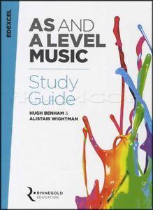 Comme Et Un Niveau De Musique Study Guide Edexcel De 2016 Sheet Music Book Exam Prep-afficher Le Titre D'origine