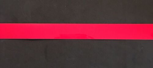 """Red 1"""" Full Size Football Helmet Stripe Decal High Quality."""