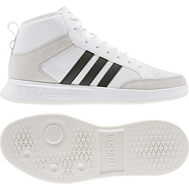 Adidas Hombre Zapatos Entrenamiento de Salón Íconos 80s Zapatillas Cuero Tenis