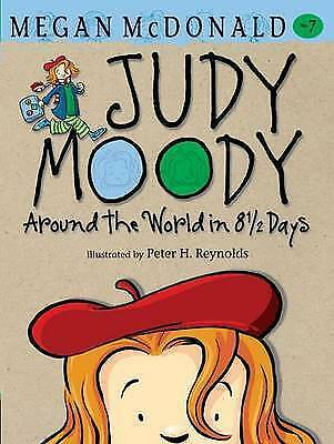 Judy Moody: Around the World in 8 1/2 Days, McDonald, Megan, Good Book