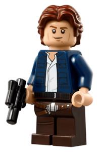 NEW LEGO STAR WARS HAN SOLO MINIFIGURE 75192 UCS Millennium Falcon