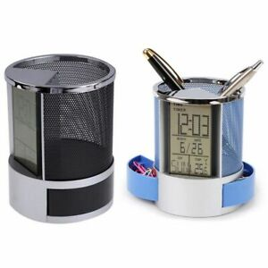 Mesh-Pen-Pencil-Holder-With-Digital-Lcd-Office-Desk-Clock-With-Time-Temp-Ca-L2H4