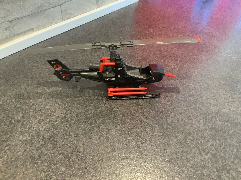 Gi-joe actionforce køretøj og helikopter, Hasbro