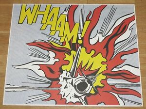 Roy Lichtenstein Poster WHAAM! Right-Hand Panel Pop Art Poster IN ...