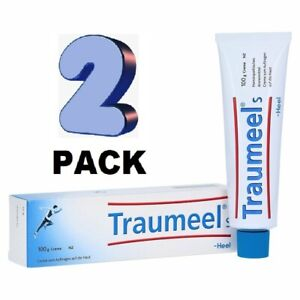 2 x Traumeel S Homeopathic Ointment Anti-Inflammatory Pain Relief 100g EXP 12/23