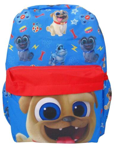 Disney Junior Puppy Dog Pals Large  All-Over Print Boys/' School Backpack Rolly