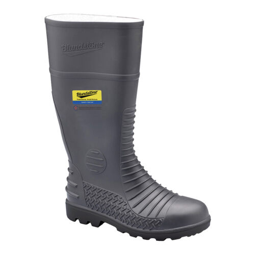 Size 6 8 Or 9 7 Blundstone SAFETY GUMBOOTS 025 Waterproof GREY *Aust Brand
