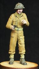1/35 scale resin model kit WW2 British Officer
