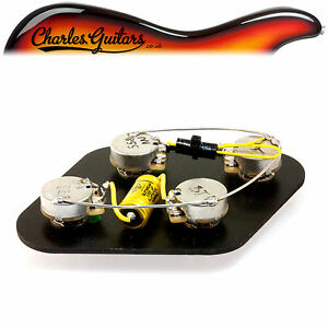 Rs-Guitarworks-Pre-cablato-Albero-Corto-LP-Vintage-Moderno-Kit-Upgrade-RS16015