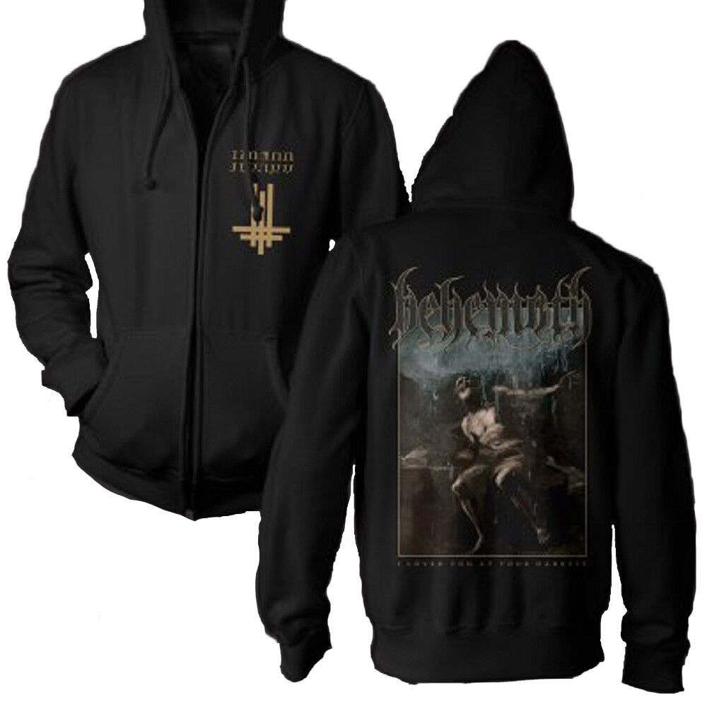 Behemoth-ilyayd I loved you at your Darkest con cappuccio Giacca zipped hoodie