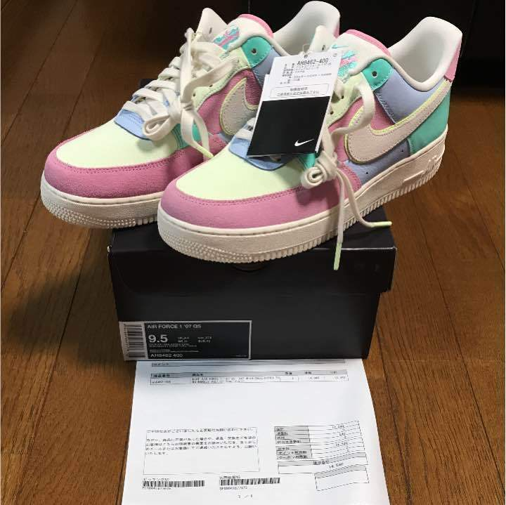 NIKE AIR FORCE 1 07 QS cm 27,5 from japan (4294