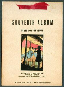 1957-Philippines-REGIONAL-CENTENARY-WORLD-CAMP-Souvenir-Album-FIRST-DAY-OF-ISSUE