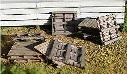 S S S scale Shipping pallets 12 pieces KIT 21102 1c56d3