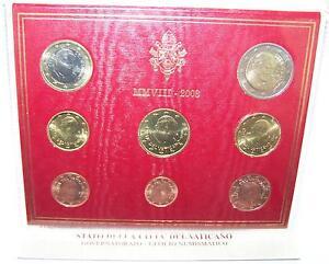 Details Zu Original Kms Vatikan 2008 Papst Benedikt Xvi Euro Münzen