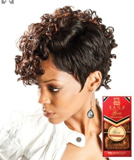 MilkyWay Saga Gold Remy 100% Human Hair Weave - Premium 27pcs