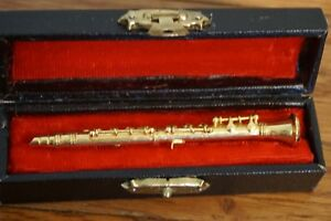 Miniature Black Clarinet with Case 3 Inches Music Instrument CBCL10