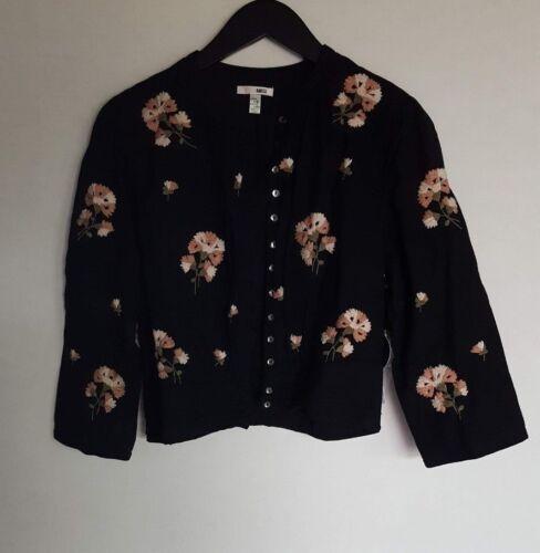 Amuse Nwt Schwarz 95 Damen Large Jacke Arcadia Society Pwq8vwFR