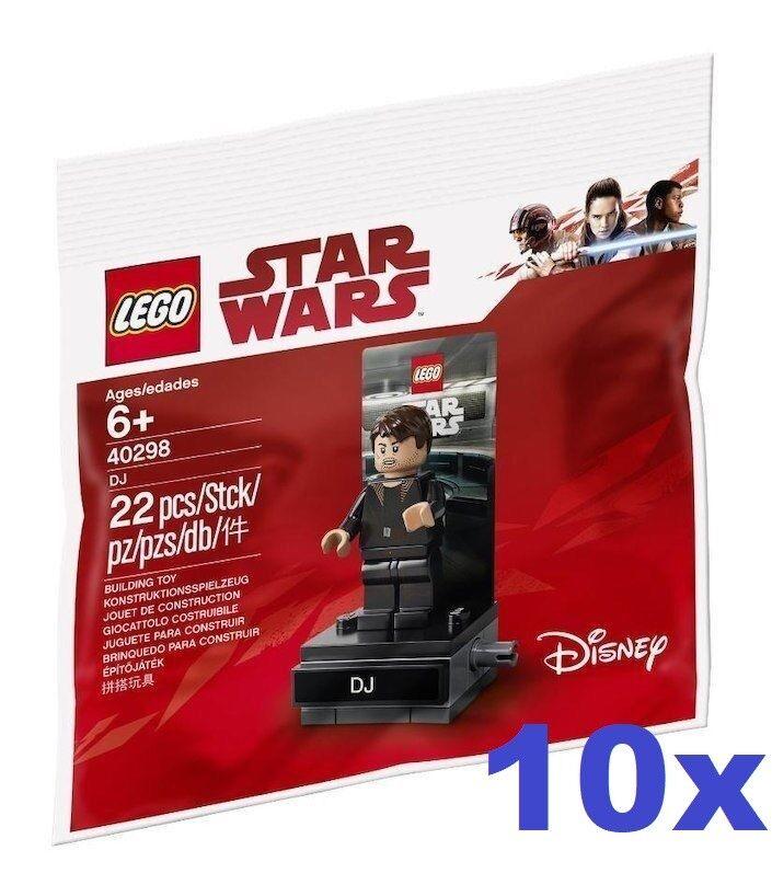 LEGO ® 10x 40298 Star Wars DJ CODE BREAKER PolyBorsa-Nuovo/Scatola Originale