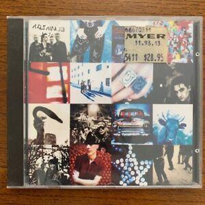 U2 - Achtung Baby - Australian 12 Track CD Album
