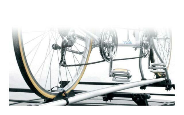 Silver ETC ERR027 Deluxe 4-Bike Car Rack